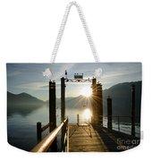 Port On In Sunset Weekender Tote Bag