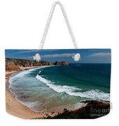 Porthcurnow Beach Weekender Tote Bag