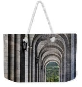 Portico From The Valley Of The Fallen Weekender Tote Bag by Mary Machare