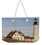 Portland Head Light Profile Weekender Tote Bag