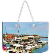 Portland Maine Harbor Weekender Tote Bag