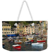 Portofino In The Italian Riviera In Liguria Italy Weekender Tote Bag