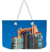 Portofino Tower At Miami Beach Weekender Tote Bag
