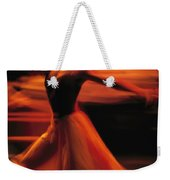 Portrait Of A Ballet Dancer Bathed Weekender Tote Bag