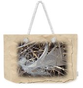 Portrait Of A Feather Weekender Tote Bag