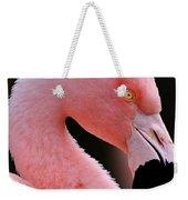 Portrait Of A Flamingo Weekender Tote Bag