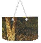 Portrait Of A Tree Trunk Weekender Tote Bag