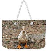 Portrait Of An Alabama Duck Weekender Tote Bag