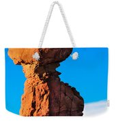 Portrait Of Balance Rock Weekender Tote Bag