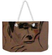 Portrait Of Frank Frazetta Weekender Tote Bag