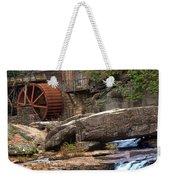 Portrait Of Glade Creek Mill Weekender Tote Bag