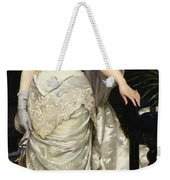 Portrait Of Mademoiselle X Weekender Tote Bag