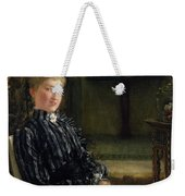 Portrait Of Mrs Ralph Sneyd Weekender Tote Bag