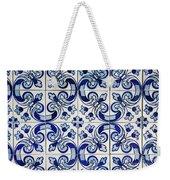 Portuguese Azulejo Weekender Tote Bag