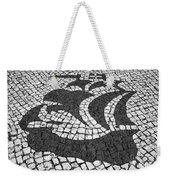 Portuguese Caravel Weekender Tote Bag