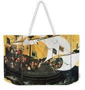 Portuguese Galleon Weekender Tote Bag