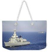 Portuguese Navy Frigate Nrp Bartolomeu Weekender Tote Bag