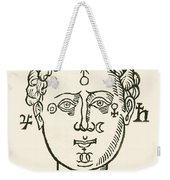 Position Of The Planets In The Human Weekender Tote Bag