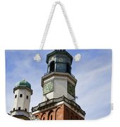 Posnan Poland Clock Tower Weekender Tote Bag