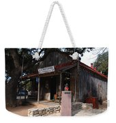 Post Office In Luckenbach Texas Weekender Tote Bag