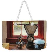 Postage Scale And Rubber Stamps Weekender Tote Bag