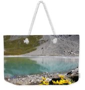 Postcard From Alpes Weekender Tote Bag