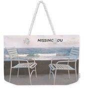 Poster Missing You Weekender Tote Bag