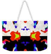 Postive And Negative Space Weekender Tote Bag