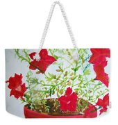 Pot Of Flowers Two Weekender Tote Bag