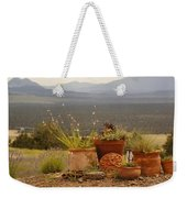 Pots And Vista Weekender Tote Bag