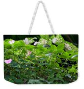 Potted Shades Of Green Weekender Tote Bag