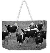 Pourquoi Pas Les Vache Weekender Tote Bag