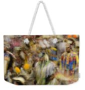 Pow Wow Color Weekender Tote Bag
