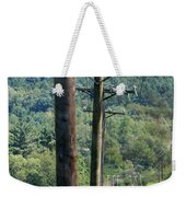 Power Lines  Weekender Tote Bag