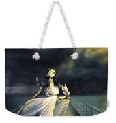 Power Of Faith Weekender Tote Bag by Svetlana Sewell
