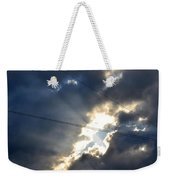 Power Of Light Weekender Tote Bag