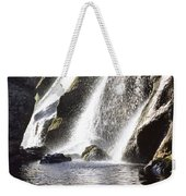 Powerscourt Waterfall, Powerscourt Weekender Tote Bag