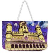 Poznan City Hall Weekender Tote Bag by Mo T