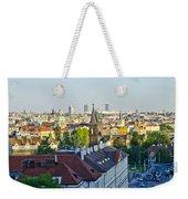 Prague And St Charles Bridge Weekender Tote Bag