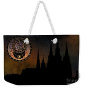 Prague Casle - Cathedral Of St Vitus - Monuments Of Mysterious C Weekender Tote Bag by Michal Boubin