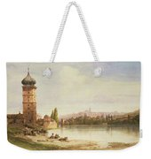 Prague Czechoslovakia Weekender Tote Bag
