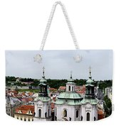 Prague Panorama Weekender Tote Bag