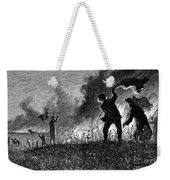 Prairie Fire, 1874 Weekender Tote Bag