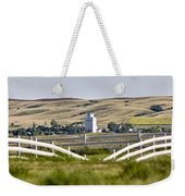 Prairie Town With Elevator Weekender Tote Bag