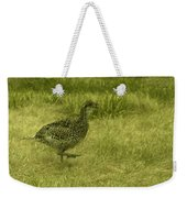 Prarie Chicken At Battle Of Little Bighorn Site Weekender Tote Bag