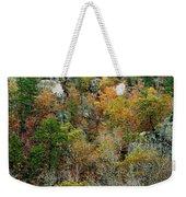 Prarie Hollow Gorge In Autumn Weekender Tote Bag