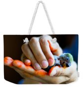 Precious Life Weekender Tote Bag by Syed Aqueel