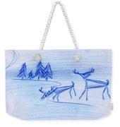 Prehistoric Scenic Weekender Tote Bag