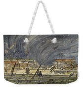 Kansas Cyclone, 1887 Weekender Tote Bag