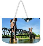Prescott Lift Bridge Weekender Tote Bag by Kristin Elmquist